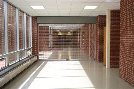 Security Gate CrossingGard Grille at Crestwood High School