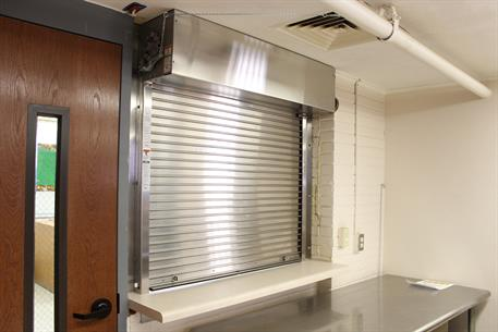 Fire Rated Counter Shutter with Integral Frame and SIll